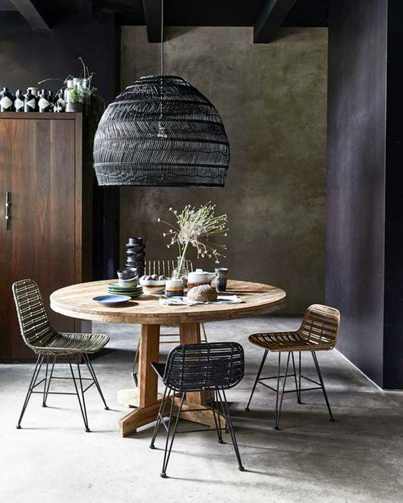 We have a collaboration with hk living is a dutch design brand with original pure and modern designs they design furniture lamps pillows and more for