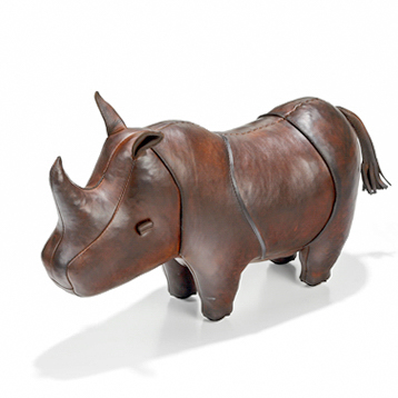 Dimitri Omersa Leather Rhinoceros