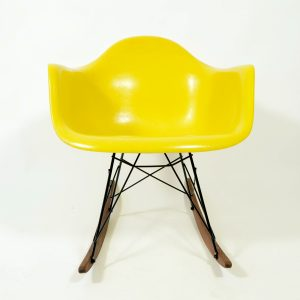 Eames RAR brilliant yellow rocking chair