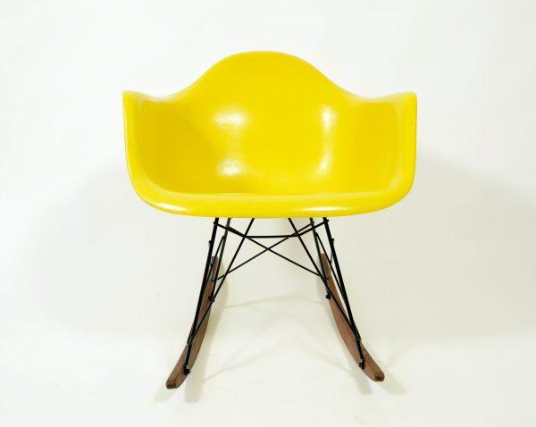 Eames RAR brilliant yellow rocking chair